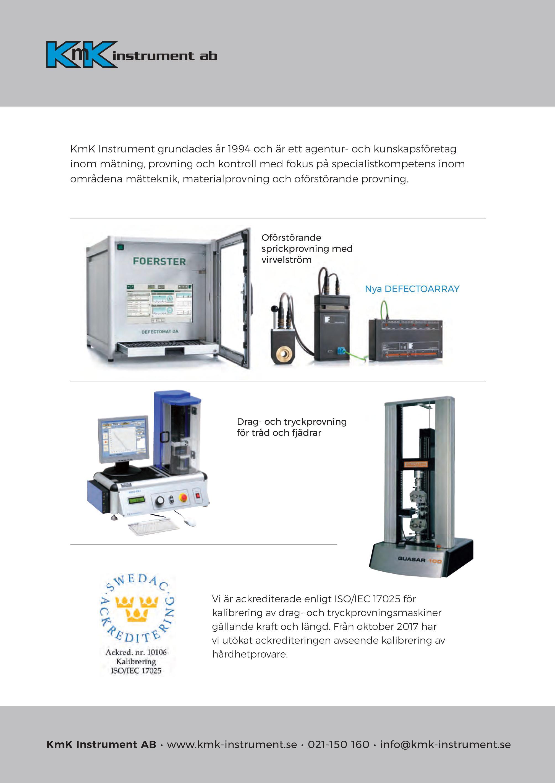 KmK Instrument Annons