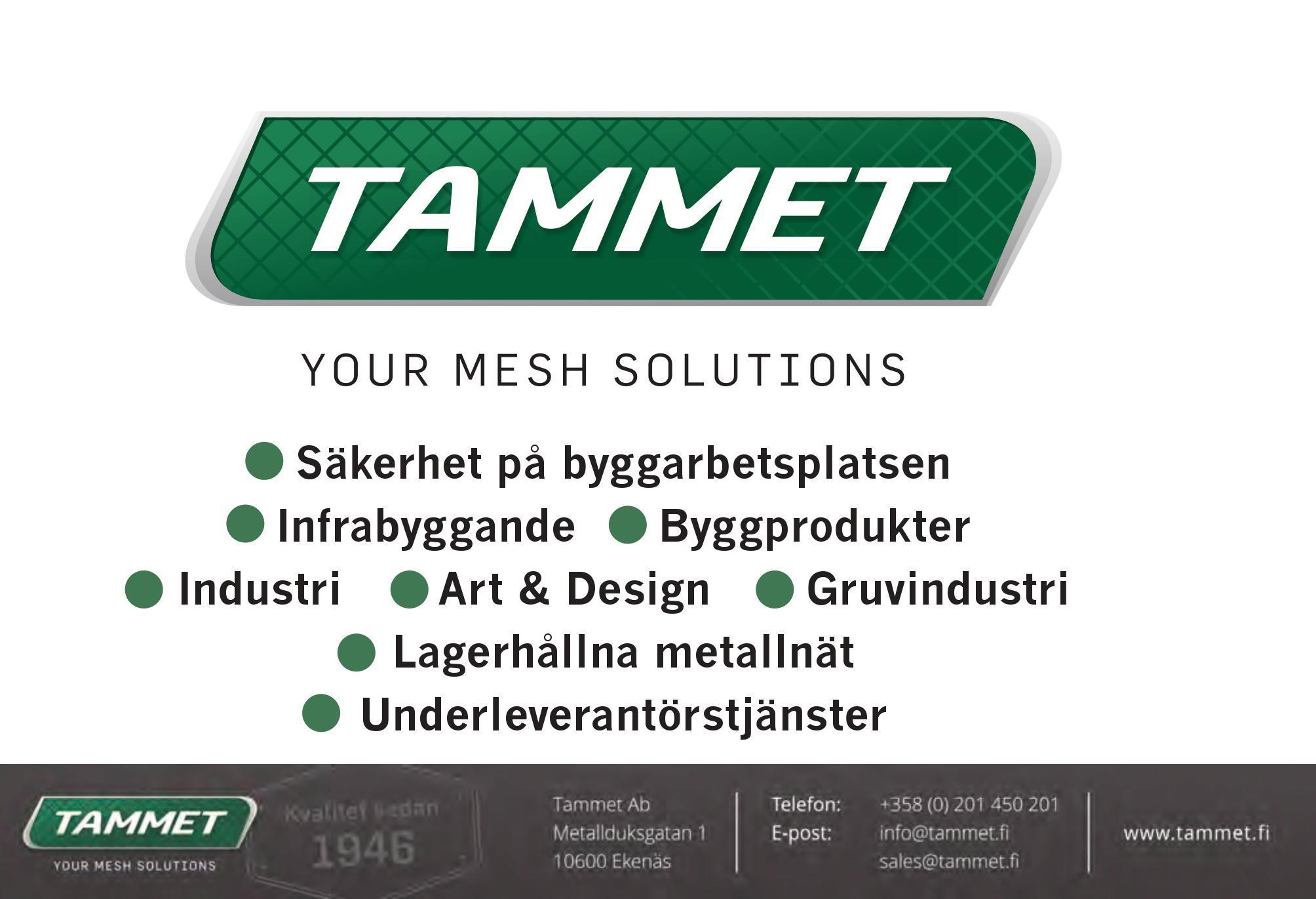 Tammet Annons